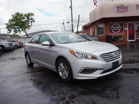 2016 Hyundai Sonata for sale in Hialeah, FL