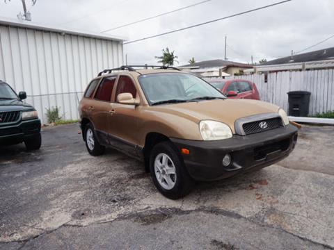 2002 Hyundai Santa Fe for sale in Hialeah, FL