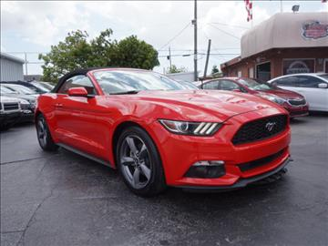 2015 Ford Mustang for sale in Hialeah, FL