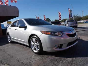 2012 Acura TSX for sale in Hialeah, FL