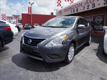 2016 Nissan Versa for sale in Hialeah, FL