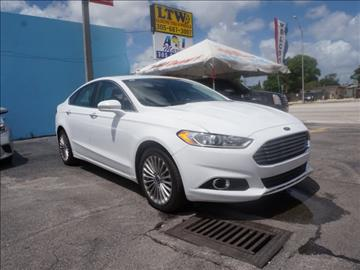 2016 Ford Fusion for sale in Hialeah, FL