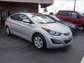 2016 Hyundai Elantra for sale in Hialeah, FL