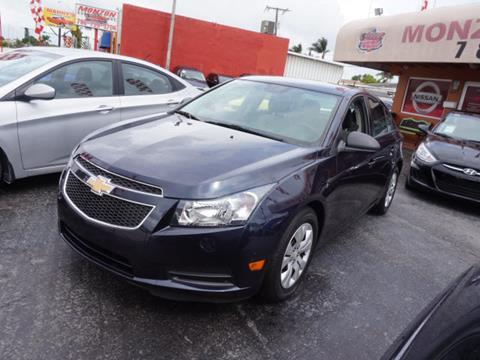 2014 Chevrolet Cruze for sale in Hialeah, FL