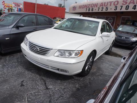 2009 Hyundai Azera for sale in Hialeah, FL