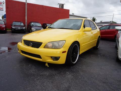 2002 Lexus IS 300 for sale in Hialeah, FL