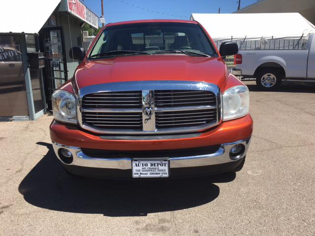 2008 Dodge Ram Pickup 1500 SLT 4dr Quad Cab SB RWD - Albuquerque NM