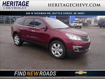 2017 Chevrolet Traverse for sale in Creek, MI