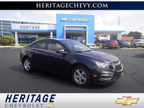 2016 Chevrolet Cruze Limited for sale in Creek, MI