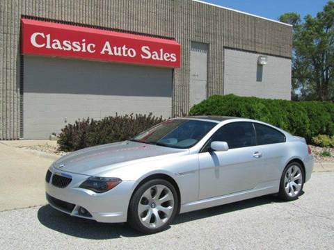 2004 BMW 6 Series For Sale In Omaha, NE