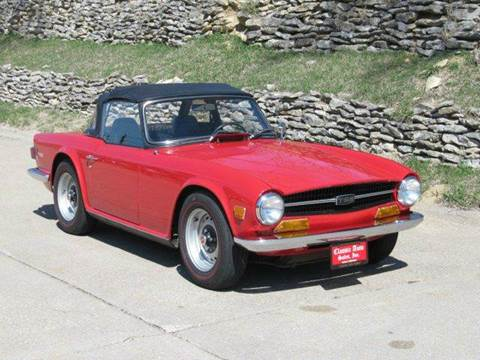 1970 Triumph TR6 for sale in Omaha, NE
