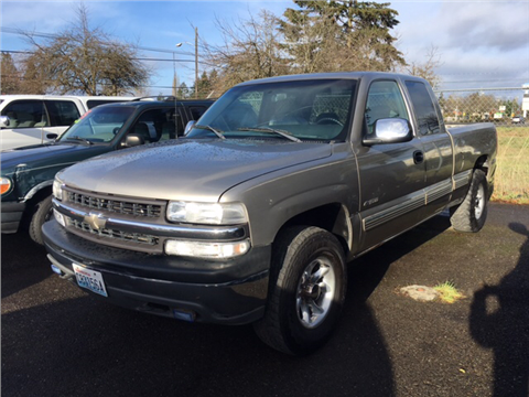 2000 Chevrolet Silverado 1500 for sale in Tacoma, WA