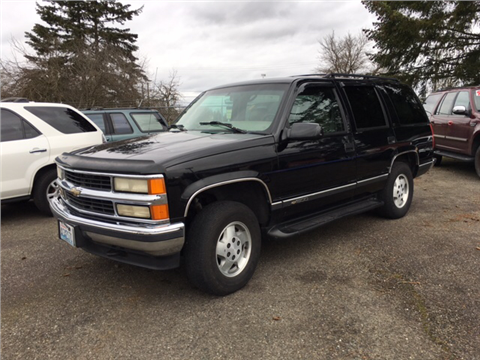 1996 Chevrolet Tahoe for sale in Tacoma, WA