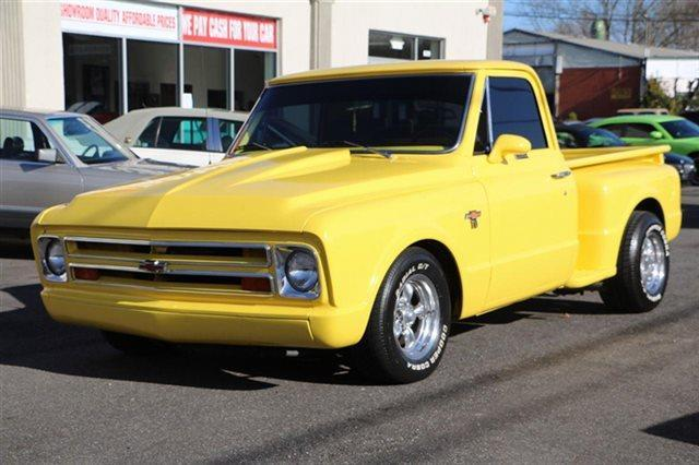 used 1967 chevrolet c10 step side truck in long island ny at classic cars for sale new york. Black Bedroom Furniture Sets. Home Design Ideas