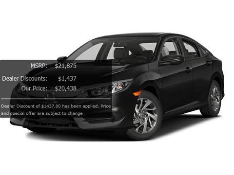 2016 Honda Civic for sale in Greenacres, FL