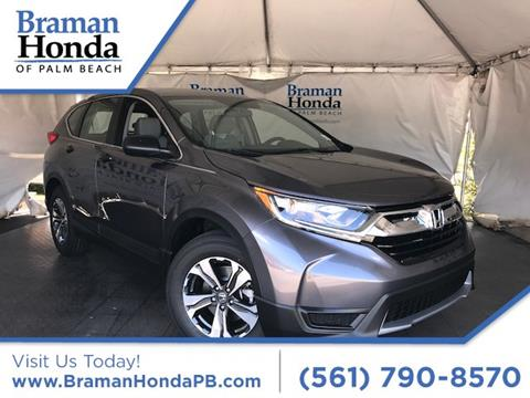 2017 Honda CR-V for sale in Greenacres, FL