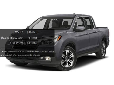2017 Honda Ridgeline for sale in Greenacres, FL