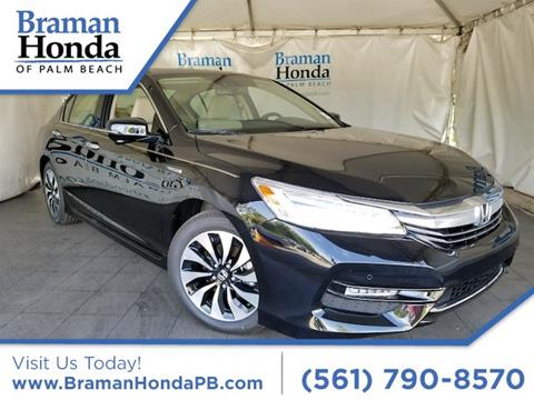 2017 Honda Accord Hybrid for sale in Greenacres, FL