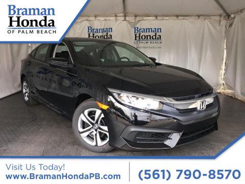2017 Honda Civic for sale in Greenacres FL