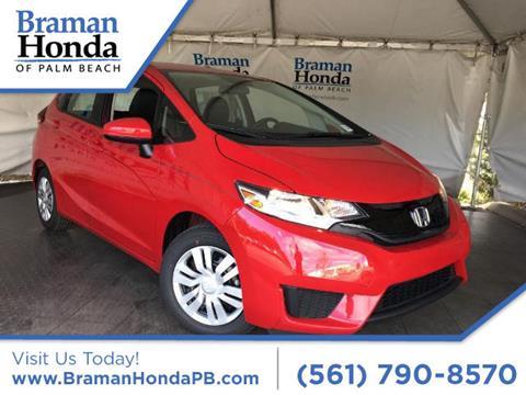 2017 Honda Fit for sale in Greenacres FL