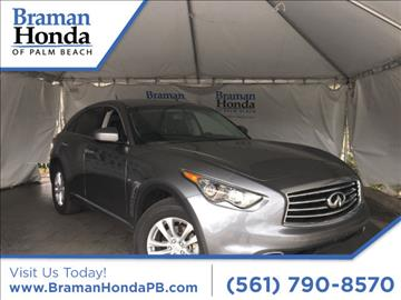 2016 Infiniti QX70 for sale in Greenacres, FL
