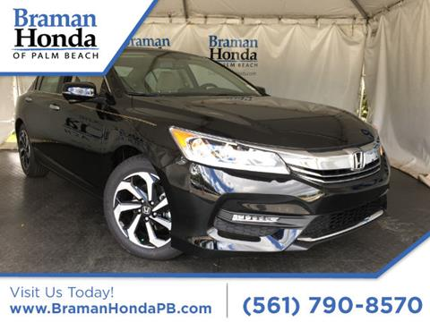 2017 Honda Accord for sale in Greenacres FL