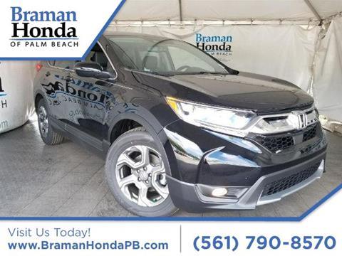 2017 Honda CR-V for sale in Greenacres, FL