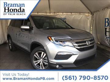 2017 Honda Pilot for sale in Greenacres, FL