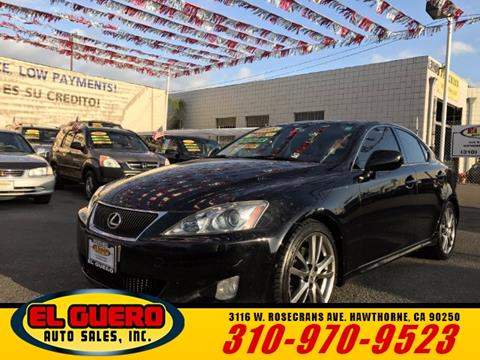 2008 Lexus IS 250 for sale in Hawthorne, CA