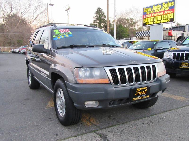 2000 jeep grand cherokee laredo 4dr 4wd suv in sacramento ca everest. Cars Review. Best American Auto & Cars Review