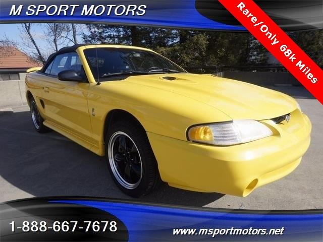 1998 Ford Mustang SVT Cobra Cobra - Walnut Creek CA
