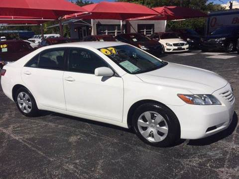 2007 Toyota Camry for sale in Pompano Beach, FL