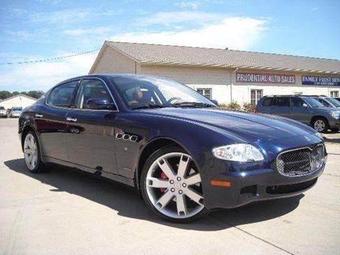 2007 Maserati Quattroporte for sale in Hudson, OH