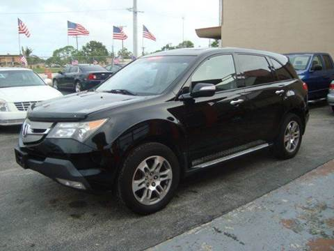 2007 Acura MDX for sale in Hollywood, FL