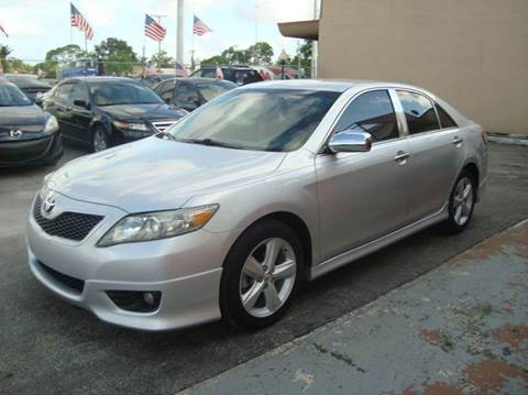 2010 Toyota Camry for sale in Hollywood, FL