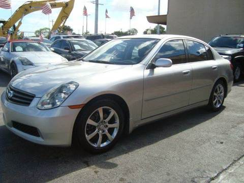2005 Infiniti G35 for sale in Hollywood, FL
