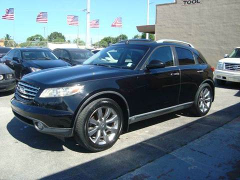 2004 Infiniti FX35 for sale in Hollywood, FL