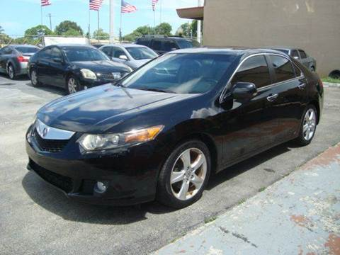 2009 Acura TSX for sale in Hollywood, FL