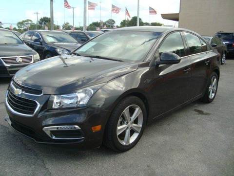 2015 Chevrolet Cruze for sale in Hollywood, FL