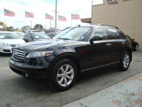 2005 Infiniti FX35 for sale in Hollywood, FL