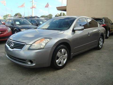 2007 Nissan Altima for sale in Hollywood, FL