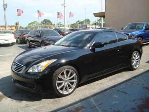 2008 Infiniti G37 for sale in Hollywood, FL