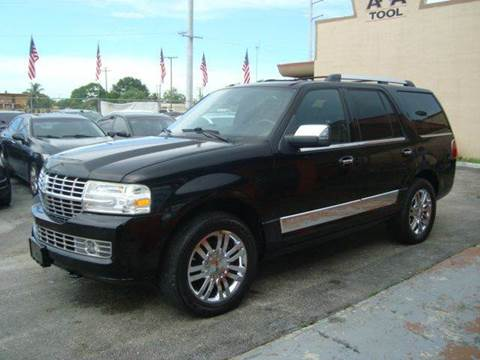 2007 Lincoln Navigator for sale in Hollywood, FL