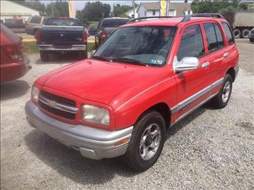 2001 Chevrolet Tracker for sale in Saint Clairsville, OH