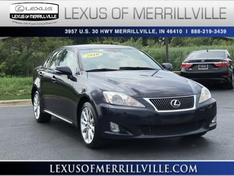 2010 Lexus IS 250 for sale in Merrillville, IN