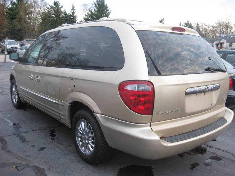 2001 chrysler town and country awd limited 4dr extended mini van in kentwood mi all state auto. Black Bedroom Furniture Sets. Home Design Ideas