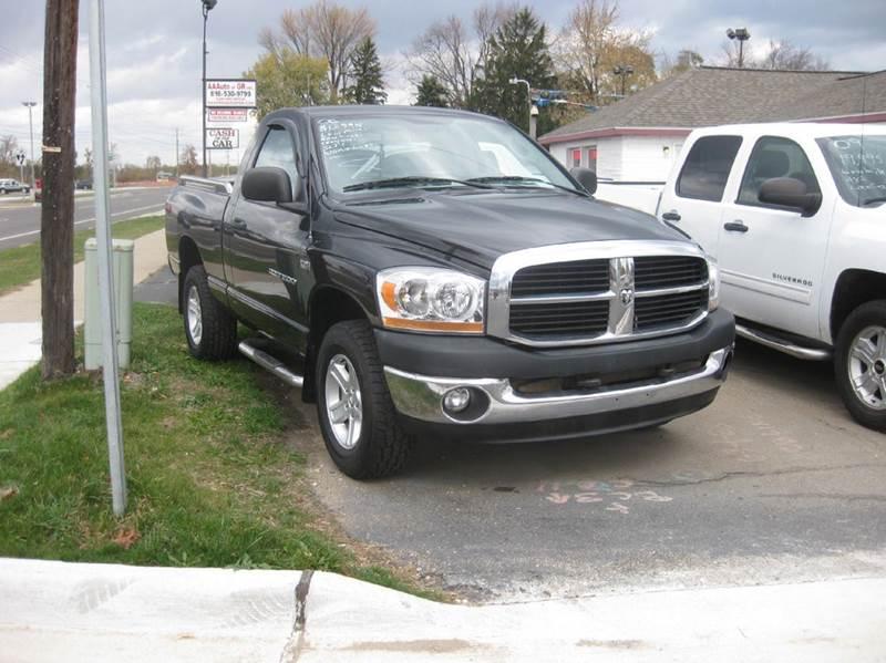 2006 dodge ram pickup 1500 slt 2dr regular cab 4wd sb in kentwood mi all state auto sales inc. Black Bedroom Furniture Sets. Home Design Ideas