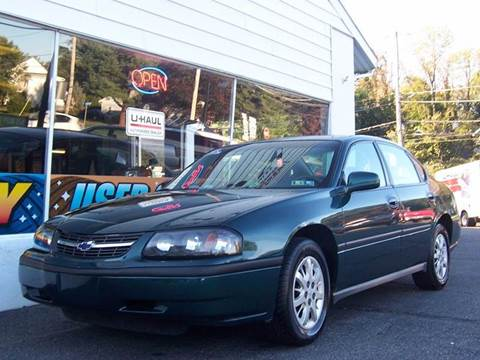 2001 Chevrolet Impala for sale in Pottstown, PA