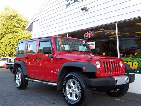 2009 Jeep Wrangler Unlimited for sale in Pottstown, PA