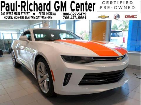 2017 Chevrolet Camaro for sale in Peru, IN